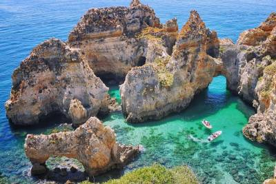 Lagos - Ponta da Piedade Boat Trip with Lunch and Grottoes included