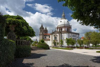 From Porto Braga and Guimarães Private Tour Full Day