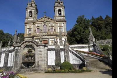 Braga and Guimarães full-day private tour from Porto