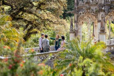 Mysteries of Regaleira: Sintra & Cascais Day Trip Private Tour