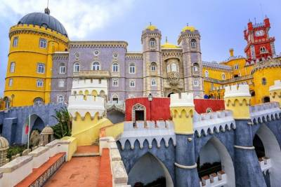 Sintra city small-group half-day tour from Lisbon