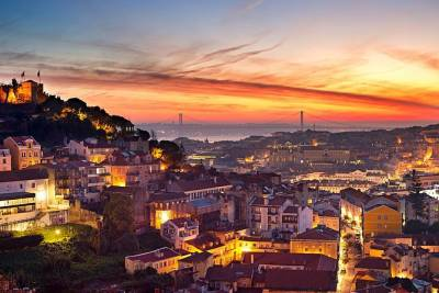 Panoramic City of Lisbon with Fados Night, from Lisbon