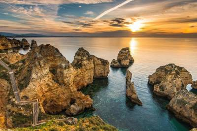 Ponta da Piedade Sunset Tour in Lagos, Algarve