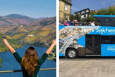 Douro Valley Tour & FREE TICKET to Hop-off Hop-On Porto