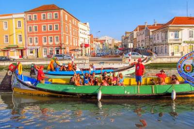 Aveiro and Costa Nova half-day private tour from Porto