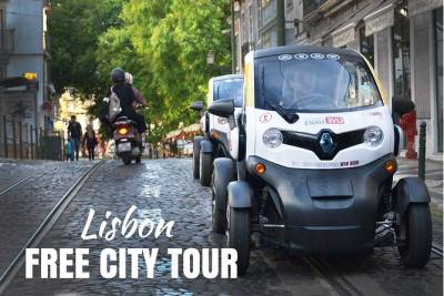 Lisbon Freedom - Self-Drive City Tour in an Electric Vehicle w/ GPS Audio Guide