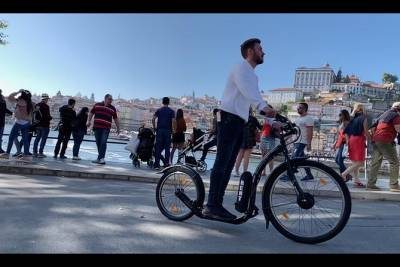 Electric Scooter Rent 2 Hours + GPS Route, Porto