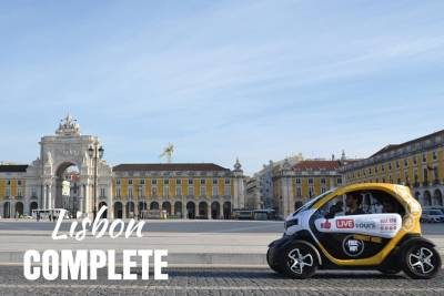 Lisbon Complete - Self-Drive City Tour w/ GPS Audio Guide in an Electric Car