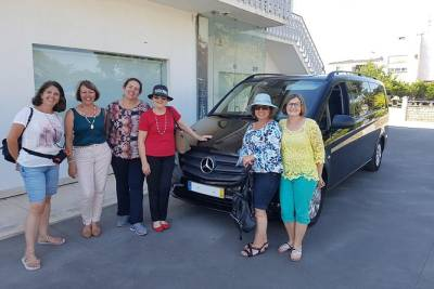 Private driver from Madrid to Lisbon