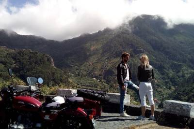 Madeira island One Day Tour (Price per Sidecar - 1 or 2 passengers)