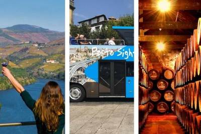Douro Valley Tour & Hop-off Hop-On Porto & Cellars Visit