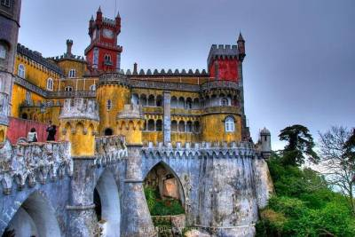 Private tour of Sintra, Cabo da Roca and Cascais from Lisbon with official guide