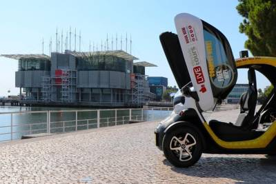 Lisbon Modern - Self-Drive City Tour w/ GPS Audio Guide + 2 Tickets Oceanarium