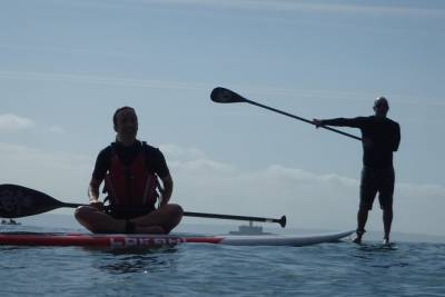 Stand Up Paddle on Lisbon Coast