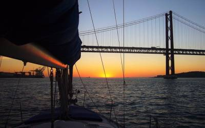 Lisbon River Sunset Sailing Cruise