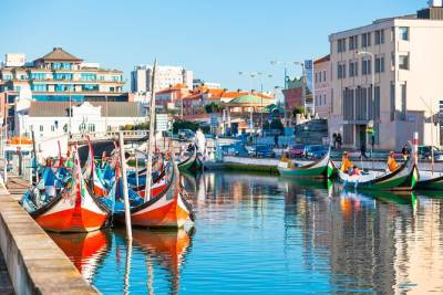 Aveiro Tour from Porto Including Moliceiro Cruise