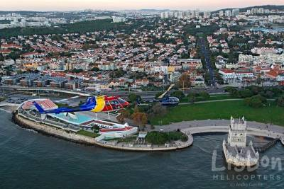 Lisbon Private Helicopter Tour: Fly over the Belém Historic Quarter