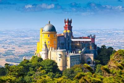 Sintra and Cascais Half Day Trip from Lisbon in Private Vehicle
