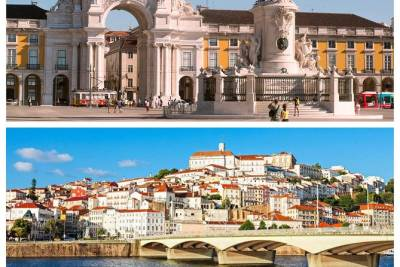 Lisbon to Coimbra with stop at Óbidos Nazaré Fátima and Aveiro private tour