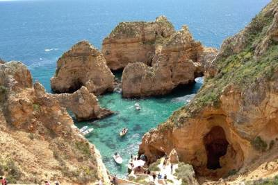 Lagos and Ponta da Piedade by Convertible or Scooter from Portimão and Alvor