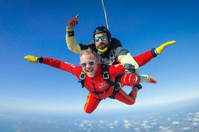 Skydive close to Albufeira