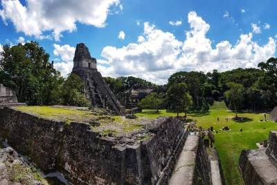 Tikal day tour with one way Tiket Gua - Flores