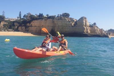 Kayak Rental in Armação de Pêra Beach, Algarve, Portugal