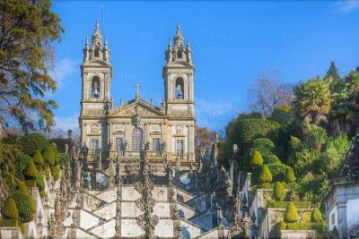 Braga and Guimarães Full Day Private Tour from Porto