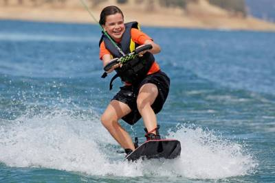 Wakeboard or Waterski from Albufeira