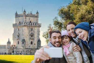 Lisbon For Kids - Self-Drive Family City Tour w/ GPS Audio Guide + Quiz Game