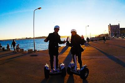 Private 2-Hour Lisbon Night Tour by Segway
