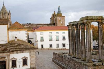 Private Full Day Tour in a Wine Experience in Évora, from Lisbon