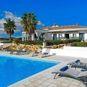 Santa Barbara de Nexe Villa Sleeps 8 Pool Air Con