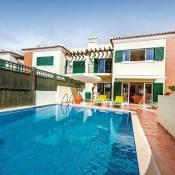 Santa Barbara de Nexe Villa Sleeps 6 Pool Air Con