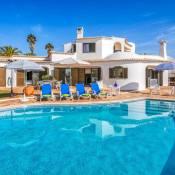 Benagil Villa Sleeps 6 Pool Air Con WiFi