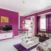 ★Purple Flat★Close to beach and Party|Free Parking