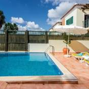Santa Barbara de Nexe Villa Sleeps 6 Pool Air Con