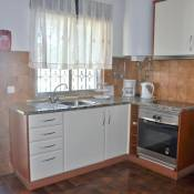 The villa is simply and traditionally furnished and is on one level with a large