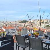 RH MONTE | 2, Lisbon Terrace & View Apartment