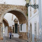 Arco do Repouso and Hermitage - Faro City Walls