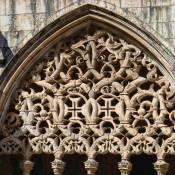 Manueline cloister - Batalha Monastery