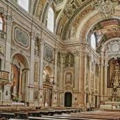 Interior of Igreja de Nossa Senhora dos Mártires