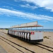 Costa da Caparica beach railway