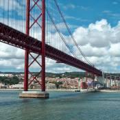 25 de Abril Suspension Bridge, Lisbon
