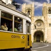 Lisbon Number 28 Tram - Alfama