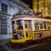 Lisbon tram number 12