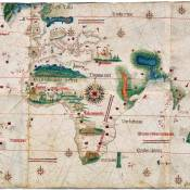 16th century map of Portuguese empire
