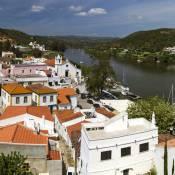 Alcoutim - River Guadiana - Spain border