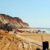 Praia da Falesia near Albufeira