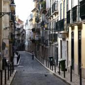 Lisbon - Bairro Alto - Rua da Rosa
